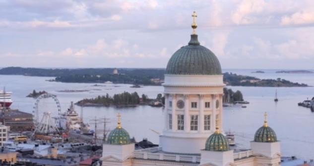 Helsinki la capitale pi a nord d europa vista dal drone for Capitale finlandese