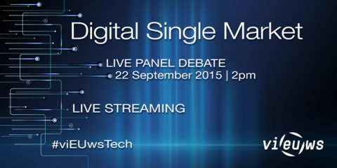 "Debate ""How to connect the dots to a Digital Single Market?"""