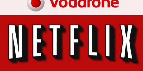 Netflix, accordo con Vodafone Italia per 4G e fibra