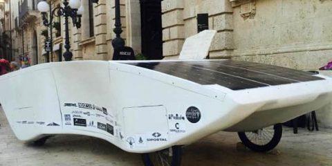 Si chiama Archimede ed è l'auto solare Made in Siracusa