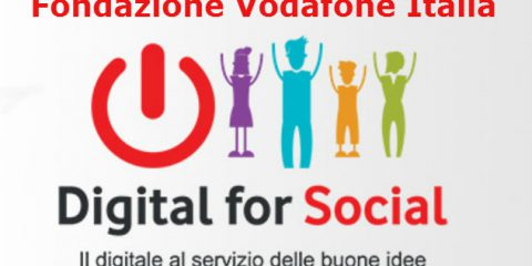 Smart community: 'Digital for Social', bando Fondazione Vodafone da 1,5 milioni