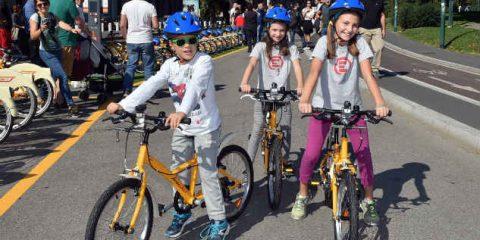 Bike sharing solo per bambini, a Milano la prima stazione d'Italia