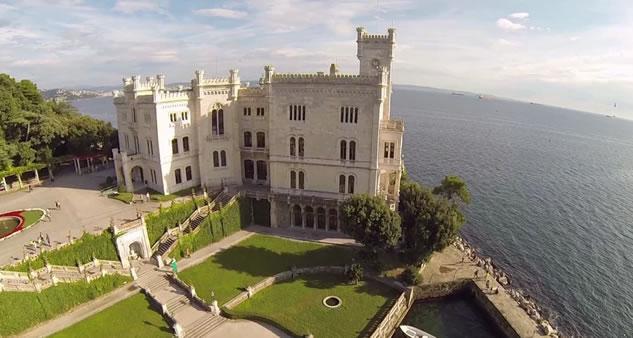 Il castello del Miramare a Trieste