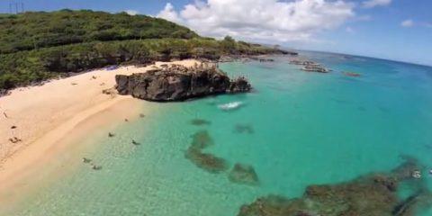Video Droni. Sapore di mare, ma l'occhio è del drone