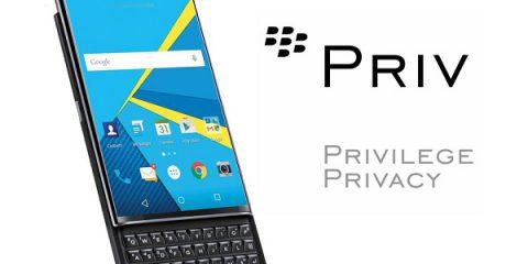 Cosa Compro. BlackBerry Priv: ecco il primo smartphone Android di BlackBerry