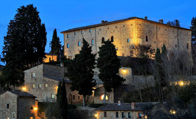 Castello di Bibbione Montefiridolfi