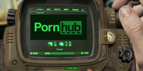 Pornhub in calo di accessi a causa di Fallout 4