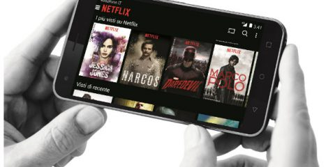 Vodafone porta Netflix sul 4G