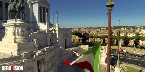 Video droni. La Roma monumentale vista dal drone
