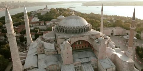 Video Droni. Istanbul e le sue guglie viste dal drone