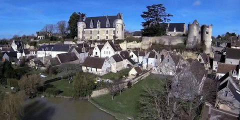 Video Droni. Montrésor, uno dei più bei villaggi di Francia visto dal drone