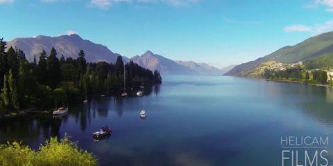 Video Droni. Qeenstown (Nuova Zelanda): l'altra faccia del mondo vista dal drone