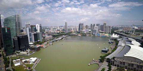 Video Droni. Singapore: ecco come una società di costruzioni usa il drone per celebrare se stessa