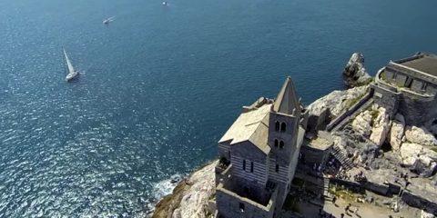 Porto Venere (la Spezia) e le sue bellezze viste dal drone