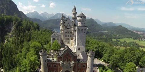Video Droni. Castelli d'Europa tra Svizzera e Germania visti dal drone