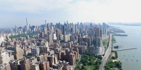 Video droni. New York vista dal drone