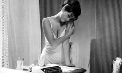 Claudia Cardinale in 8 e mezzo di Fellini (1963)