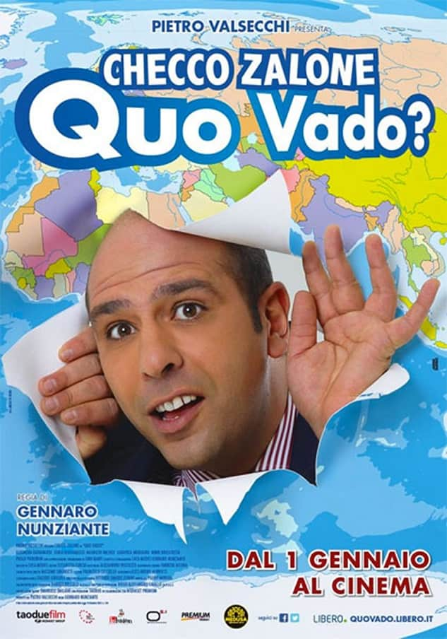 Quo Vado? Poster