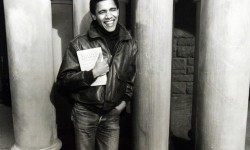 Barack Obama alla Harvard University nel 1988