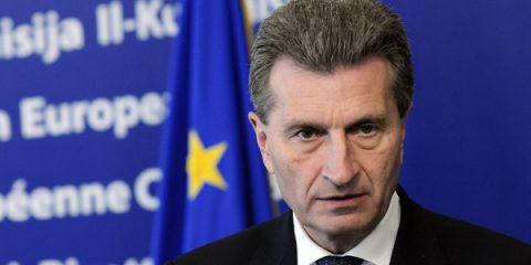5G, Oettinger sprona le telco: La Ue non perda il treno dell'Internet of Things