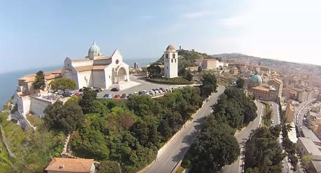 ancona vista dal drone