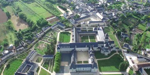 Video Droni. L'Abbazia di Fontevraud vista dal drone