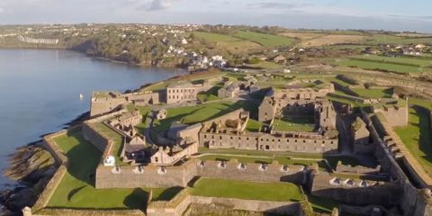 Video Droni. Il Forte Charles (Kinsale, Irlanda) visto dal drone