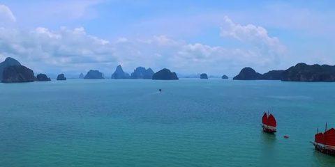 Video Droni. Phuket: le meraviglie del mare tailandese viste dal drone