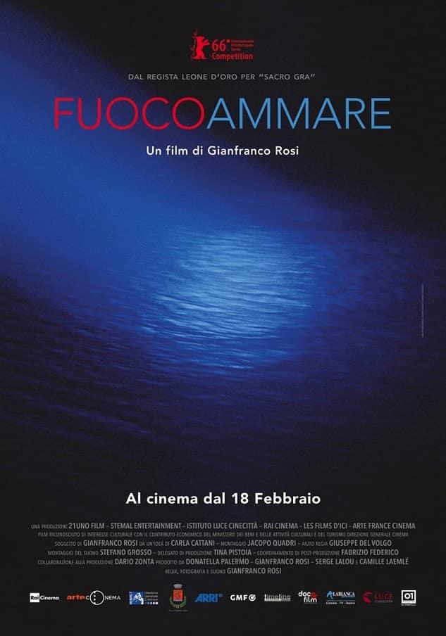 Fuocoammare Poster