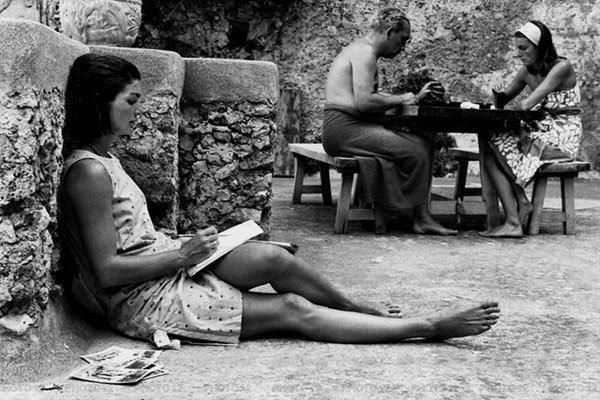 Jackie Kennedy a Ravello nel 1962