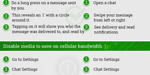 Tutti i trucchi di Whatsapp