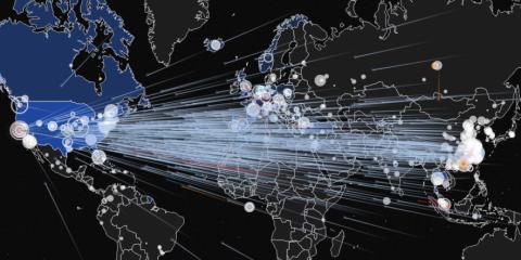 """Wef: """"Nel 2020 +76% di attacchi informatici. Ma cambiamenti climatici primo rischio globale"""""""