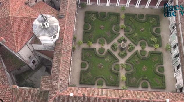 Mantova vista dal drone