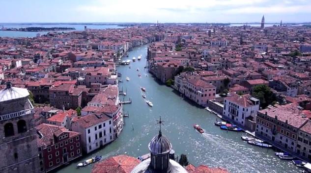 italia bella vista dal drone
