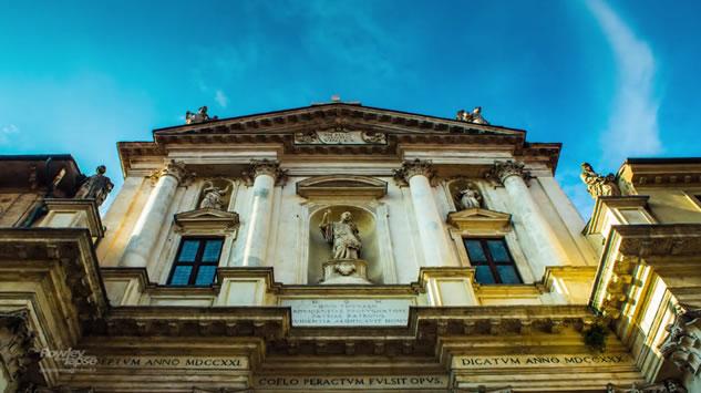 Vicenza: la città del Palladio in timelapse