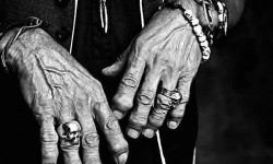 Le mani Keith Richards (Rolling Stones)