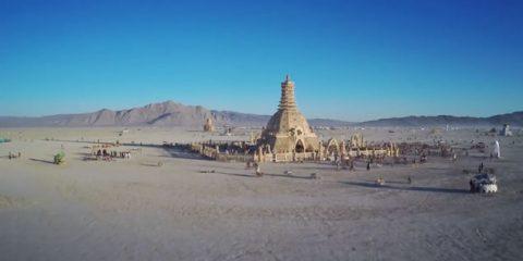 Video Droni. Burning Man: il Festival più strano del mondo visto dal drone