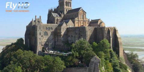 Video Droni. Le grandi maree a Mont Saint-Michel (Francia) viste dal drone