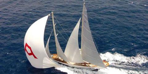 Video Droni. La regata di St Barth vista dal drone, tra barche fantastiche e voglia di mare