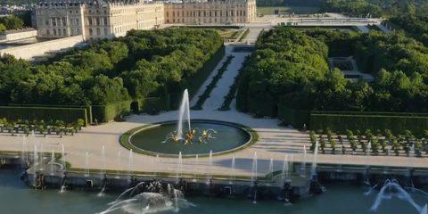 Video Droni. Le fontane di Versailles viste dal drone