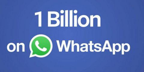 Whatsapp supera quota 1 miliardo. I numeri dell'app che ha sbaragliato gli sms