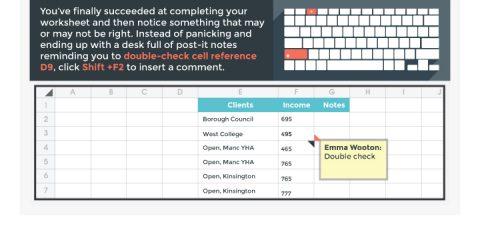 8 scorciatoie per lavorare su Excel