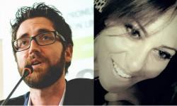 Alessio Carciofi e Stefania Sabatini