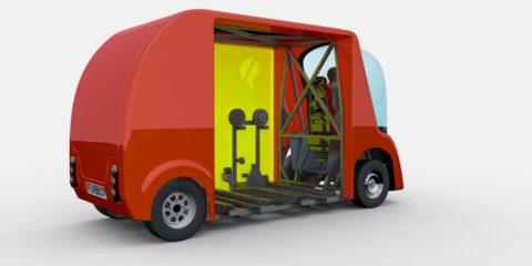 Veicoli elettrici: arriva Furbot per il trasporto delle merci in città