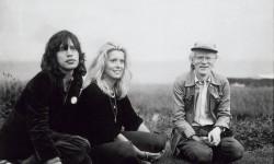 Mick Jagger, Catherine Deneuve e Andy Warhol nel 1975
