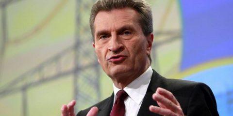 '5G, l'obiettivo è il 2020'. Intervista al Commissario Ue Gunther Oettinger