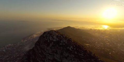 Video Droni. Cape Town (Sud Africa) vista dal drone