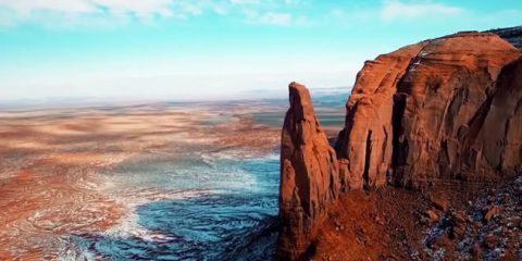 Video Droni. Canyon e deserti mozzafiato del Colorado visti dal drone