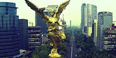 Video Droni. Le grandi metropoli: Città del Messico vista dal drone