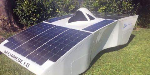 Auto elettriche: dalla Sicilia arriva quella solare